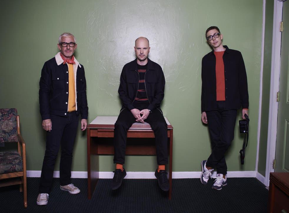 From left: Tony McGuinness, Jono Grant and Paavo Siljamaki