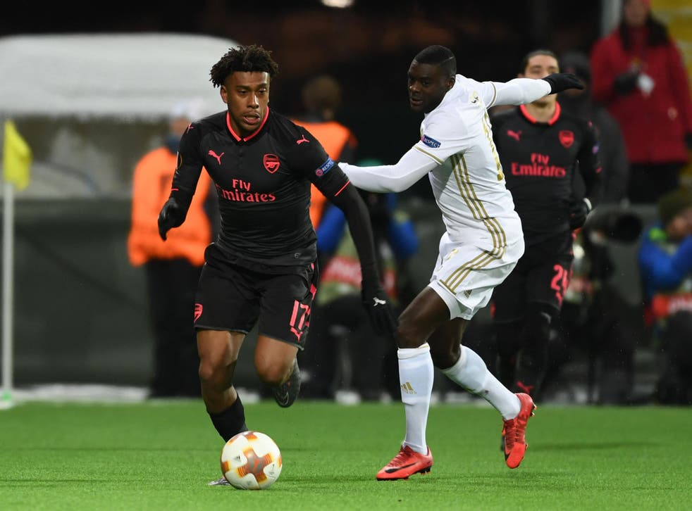 Alex Iwobi is likely to get plenty more opportunities in Europe
