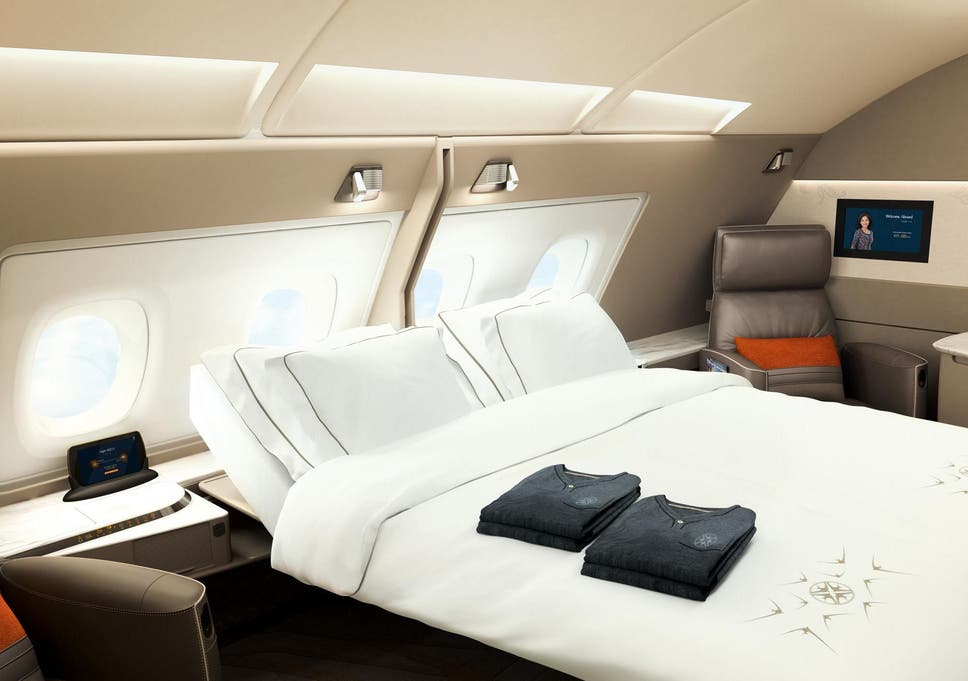 Best First Class Beds In The Sky From Singapore Airlines Suites