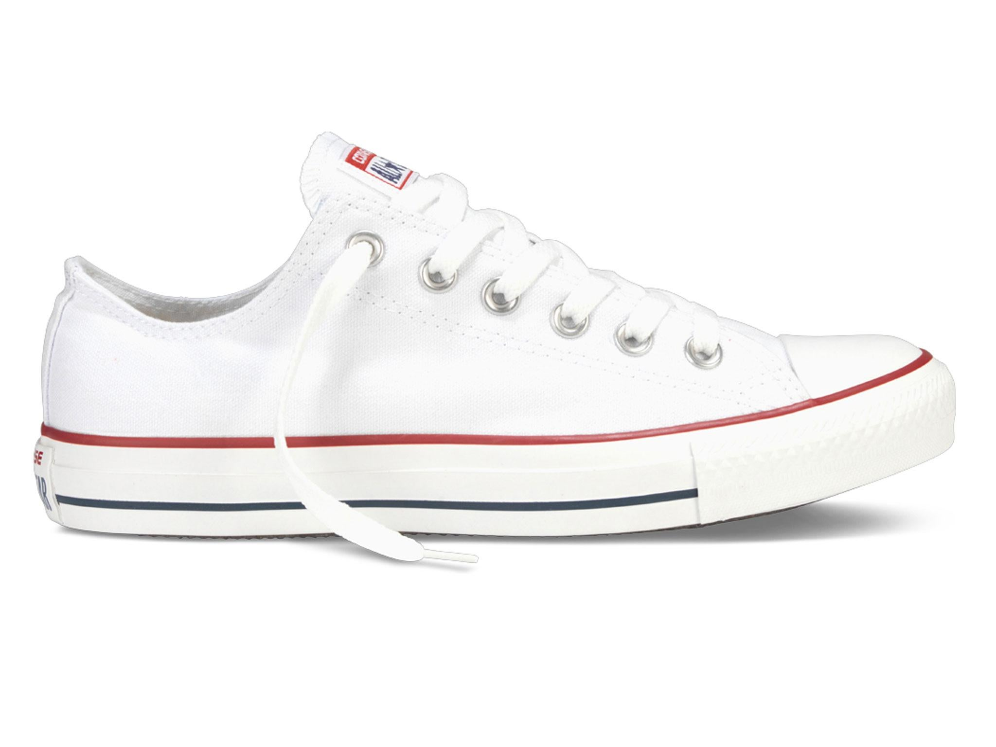 buy popular 060a8 bb42e They re made from a lightweight canvas-esque material with Converse s  signature styling and come in an impressive size range  3-13.