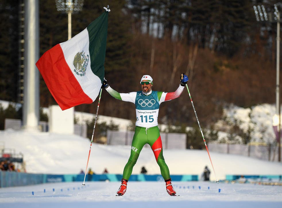 German Madrazo finished the race in style