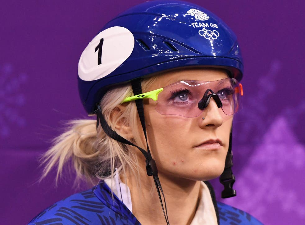 Elise Christie has decided to take a step back from Twitter in order to prepare for her 1500m and 1000m races