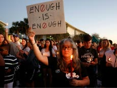 Florida students vow to change gun laws if Trump won't act