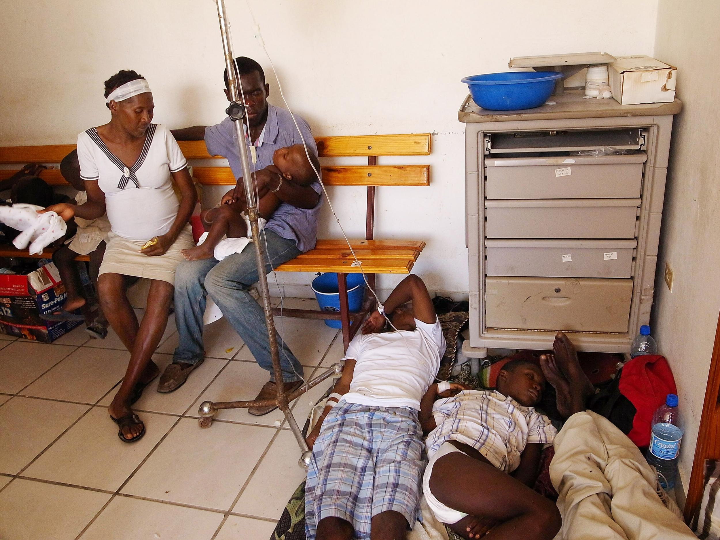 If you care so much about Haitians you should be asking why Oxfam was there in the first place