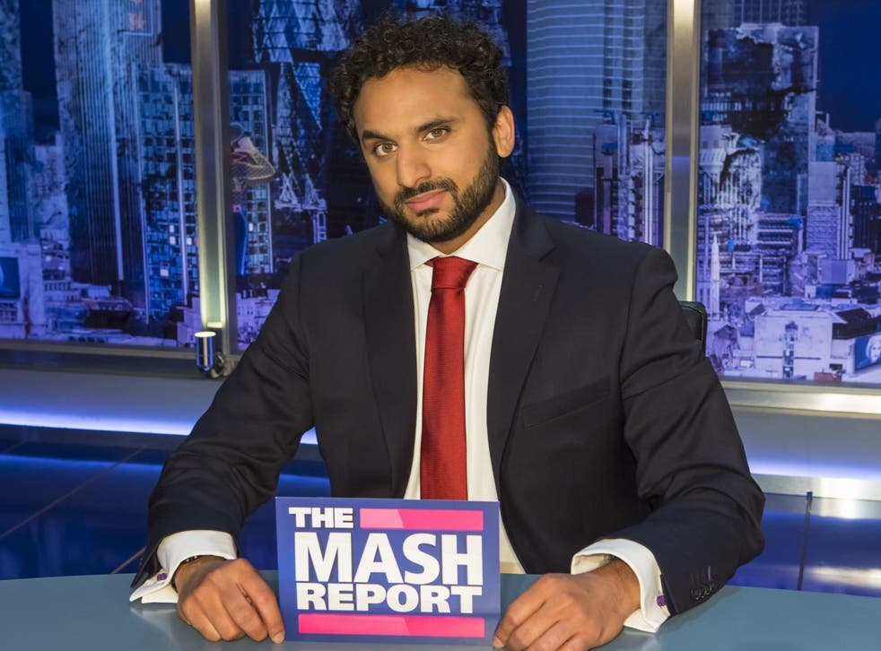 Nish Kumar initially hoped he'd get a bit part on the show, little realising he'd end up the face of it