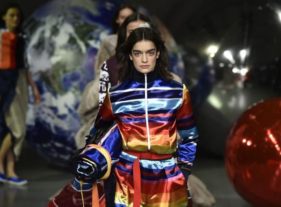 Young designers dominated the catwalk on the showcase's opening day