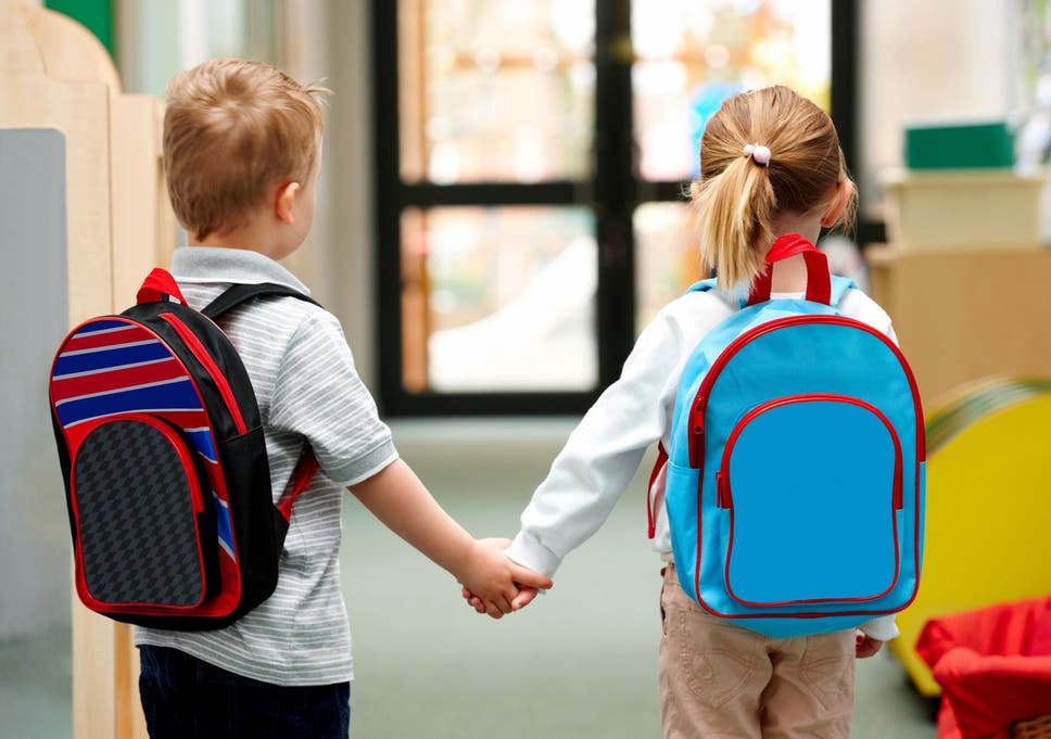 cb3518e3d46 Bulletproof backpacks for children reflect a new reality in America ...