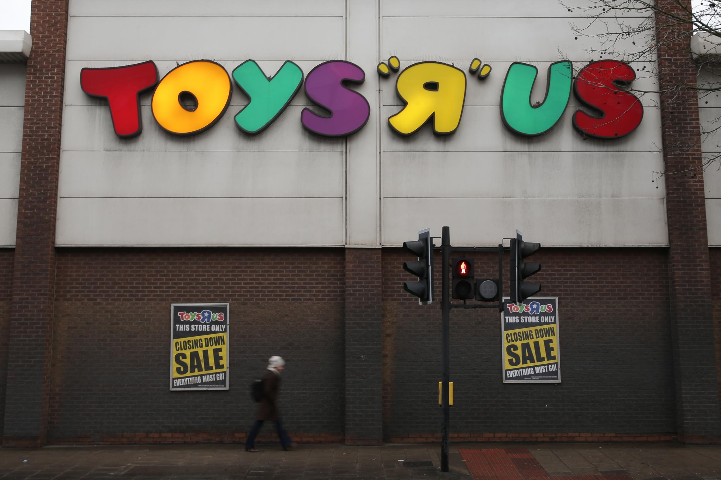 Toys R Us an Aladdins Cave no longer Lazy bosses lost the magic