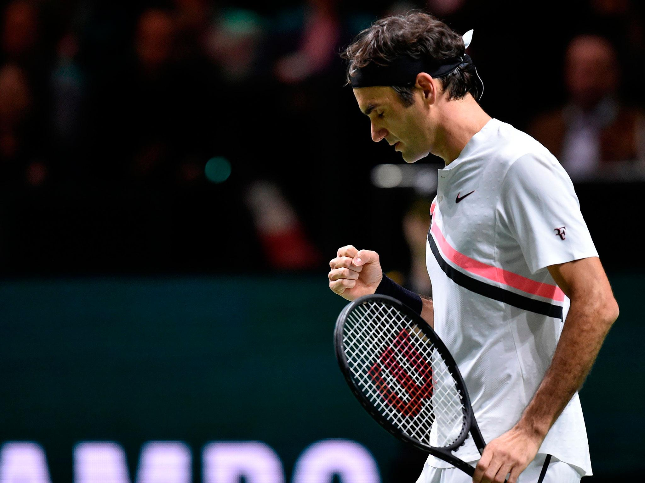 Roger Federer Becomes Oldest World No 1 In History After Victory In Rotterdam The Independent The Independent