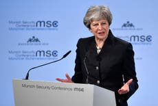 May told at conference second Brexit vote would not bring 'shame'