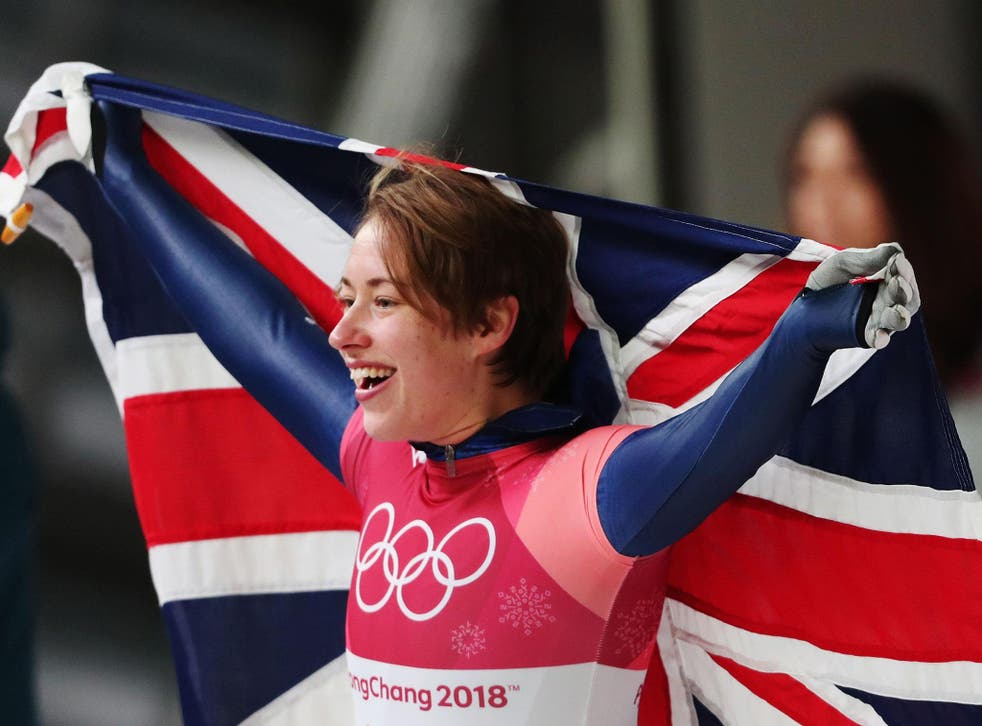 Lizzy Yarnold claimed Britain's only gold in Pyeongchang