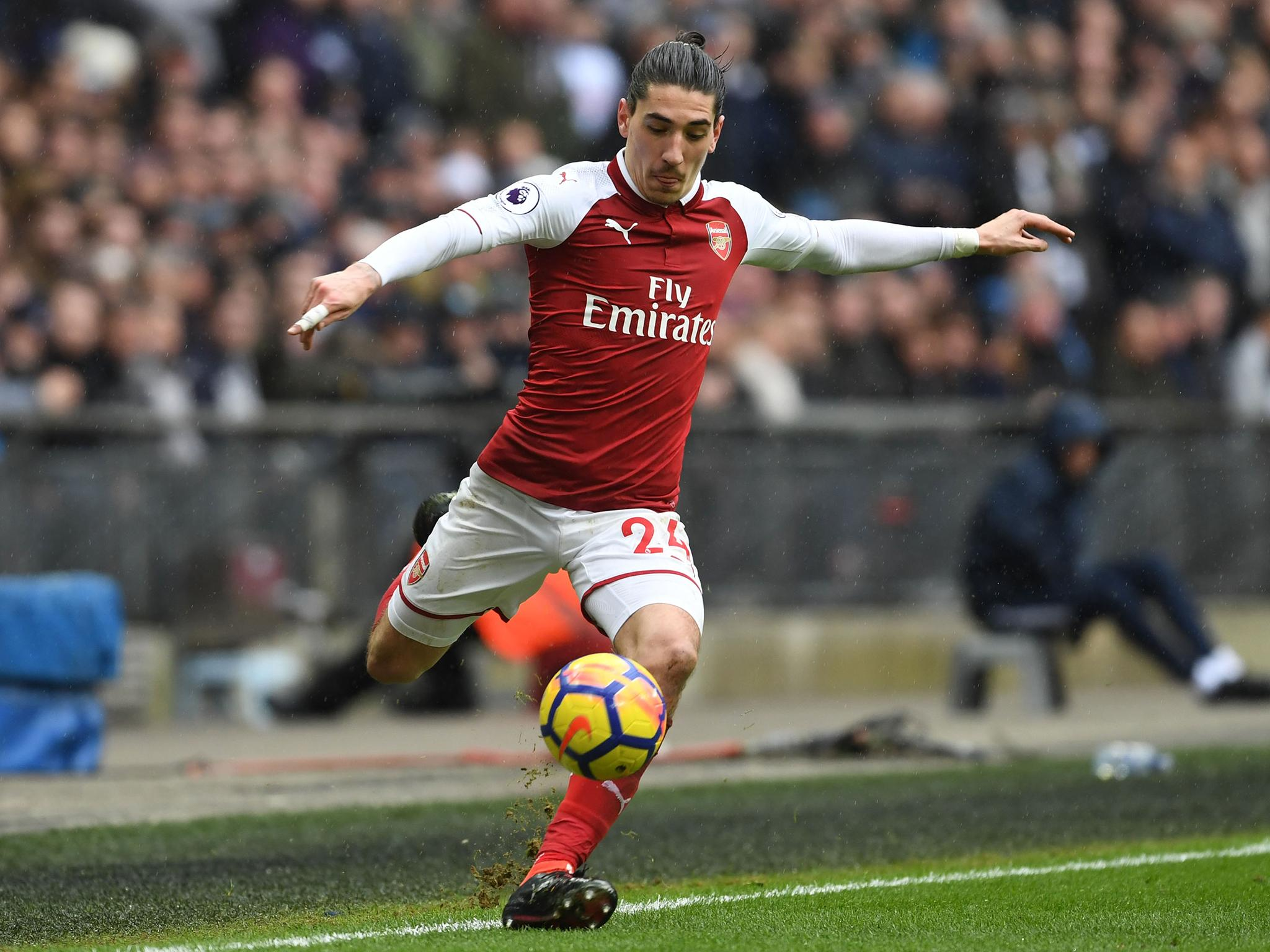 Hector Bellerin hits back at ArsenalFan TV by claiming that 'some people just can't take opinions about themselves'
