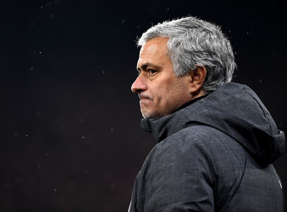 Jose Mourinho was forced to shuffle his pack