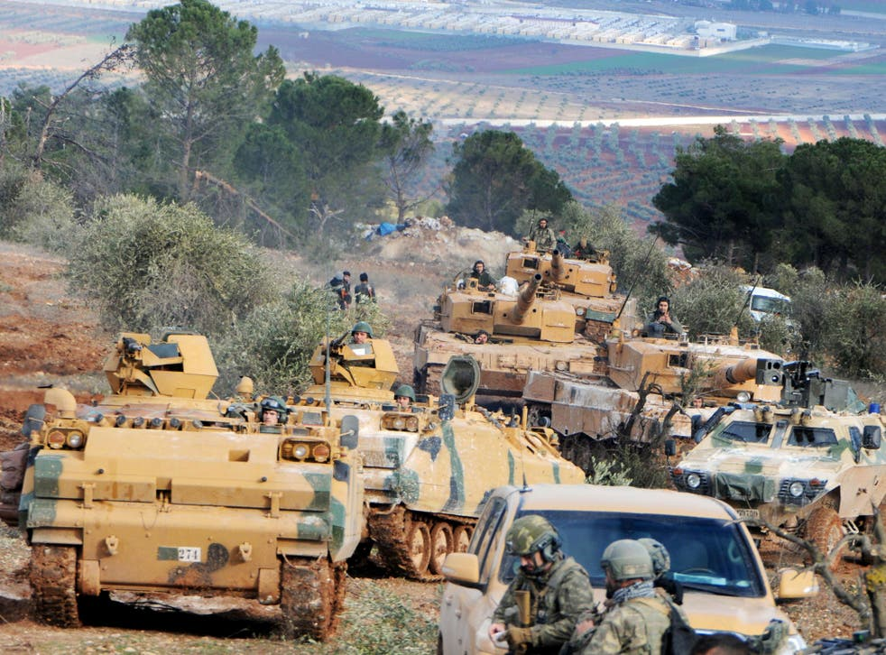 Turkish troops take control of Bursayah hill, which separates the Kurdish-held enclave of Afrin from the Turkey-controlled town of Azaz