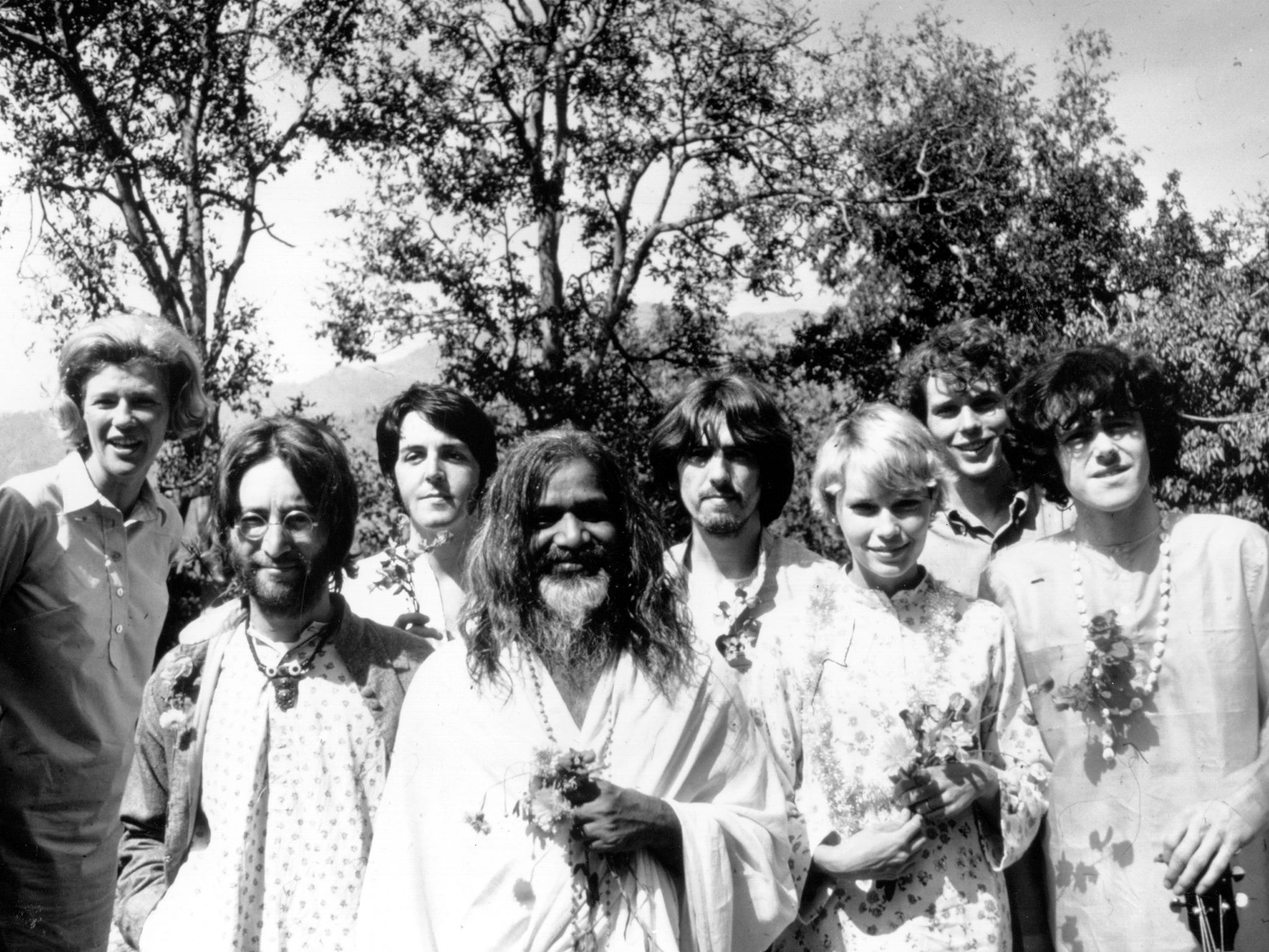 The Beatles In India Recollections At The Opening Of A Liverpool Exhibition The Independent The Independent