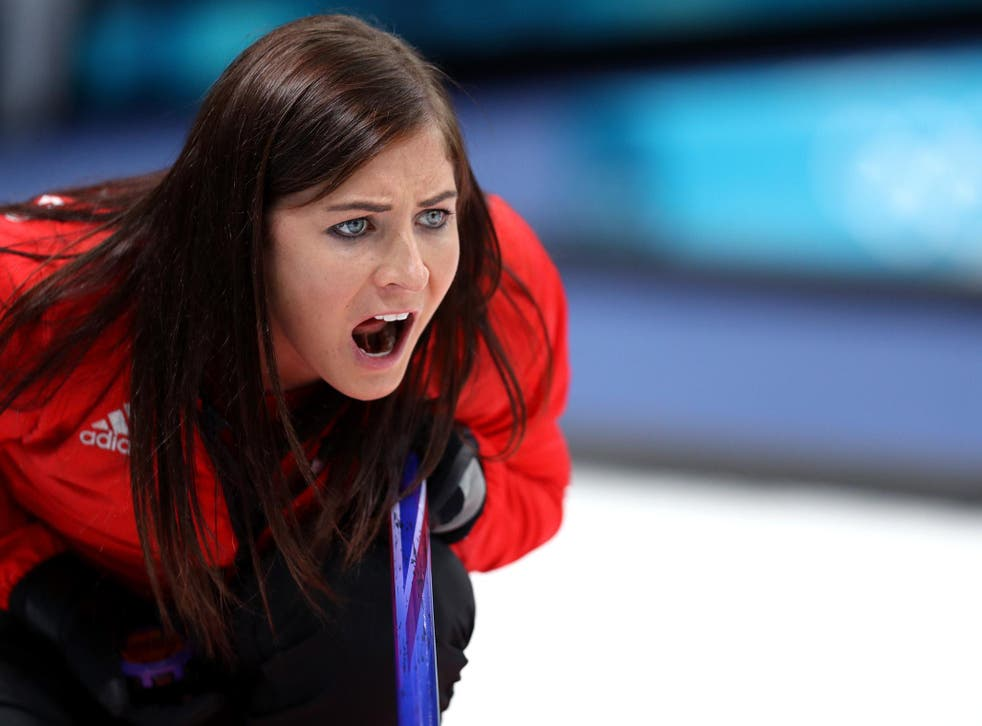 Eve Muirhead directed her team to victory over Switzerland