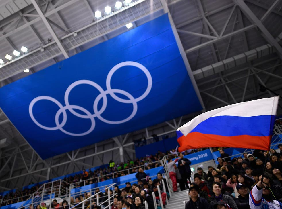 The Russian flag may be allowed at the Winter Olympics closing ceremony