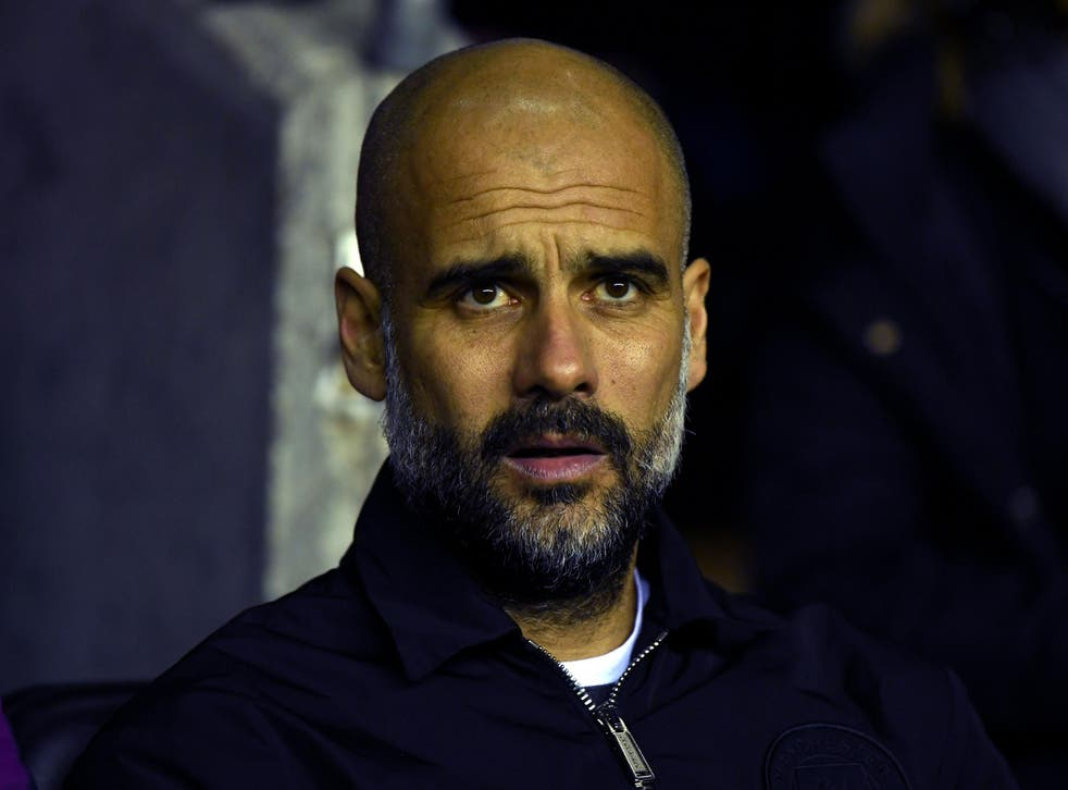 Pep Guardiola was happy with his side's performance despite defeat at the DW Stadium