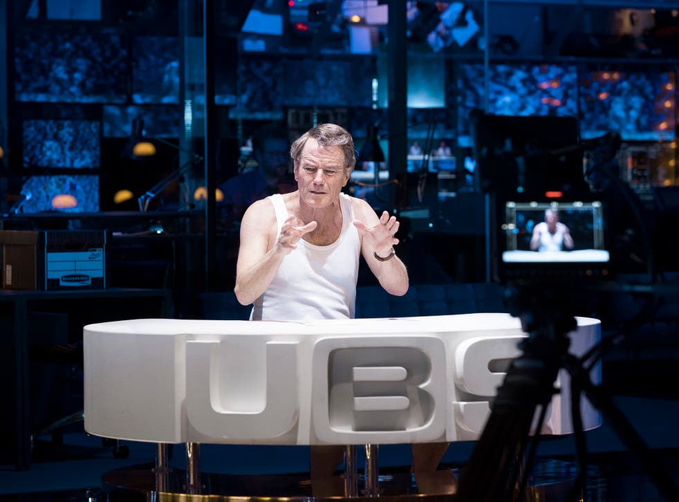 Bryan Cranston is starring in Ivo van Hove's adaptation of the 1976 film 'Network' at the National Theatre
