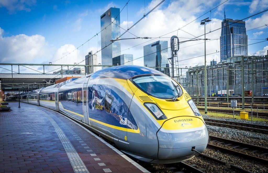 Eurostar: What it's like to catch first direct London-Amsterdam train service