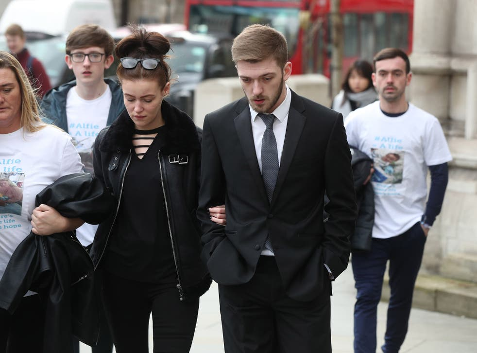 Alfie was at the centre of a extended legal battle over his treatment that made headlines around the world
