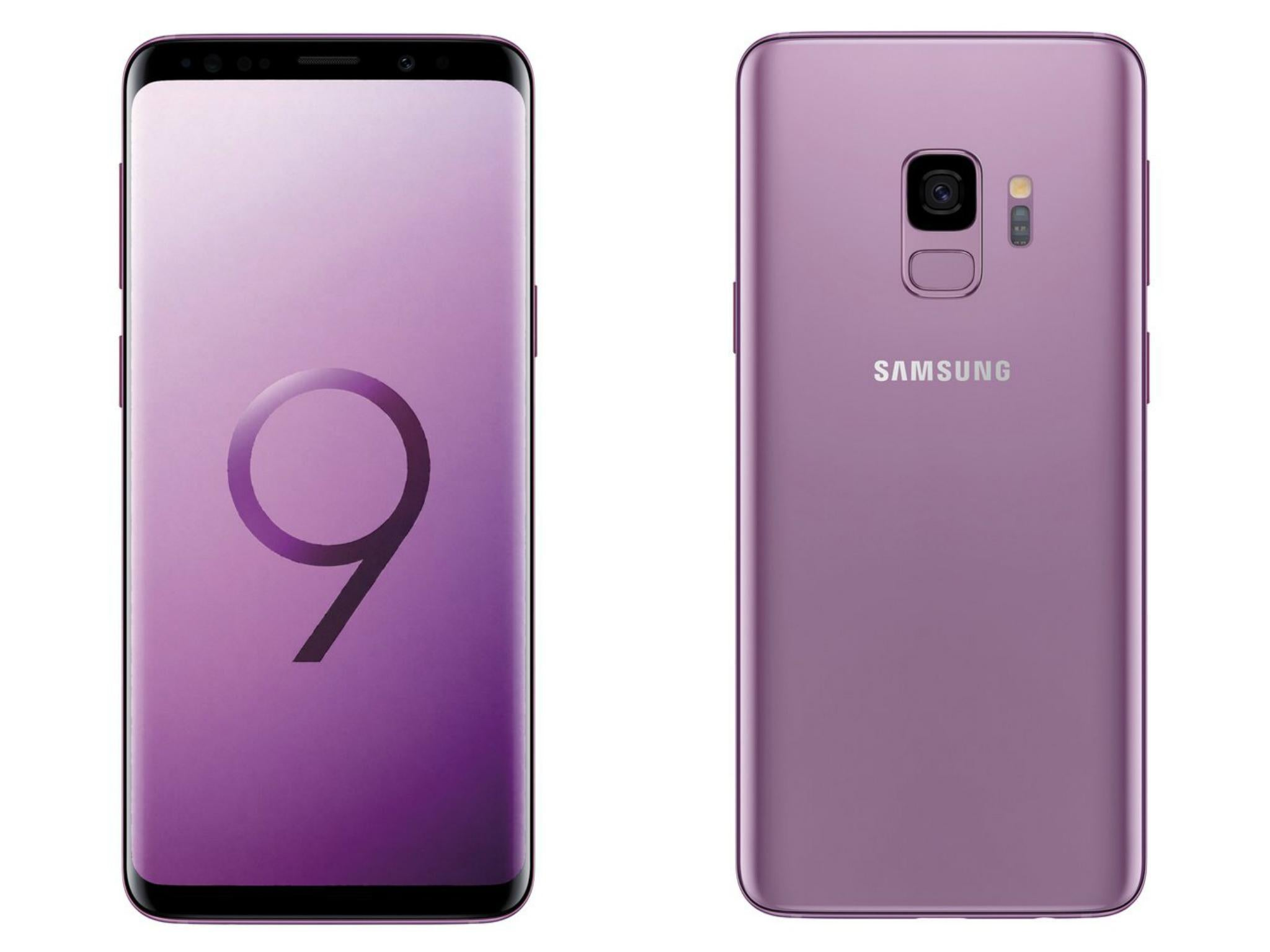 samsung galaxy s9 colours and specs revealed in new. Black Bedroom Furniture Sets. Home Design Ideas