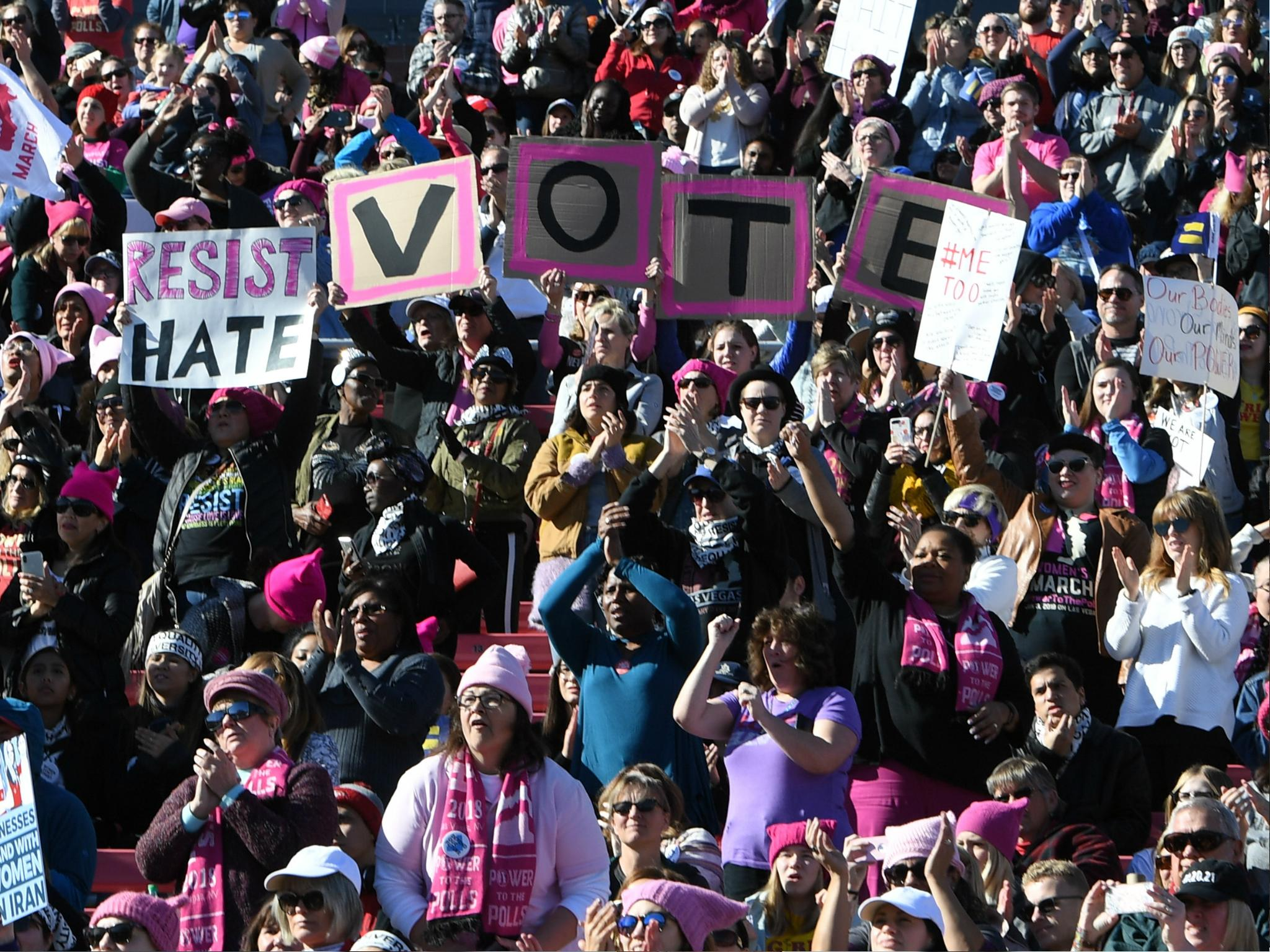 Twice as many women are running for office in 2018 than 2016, analysis shows