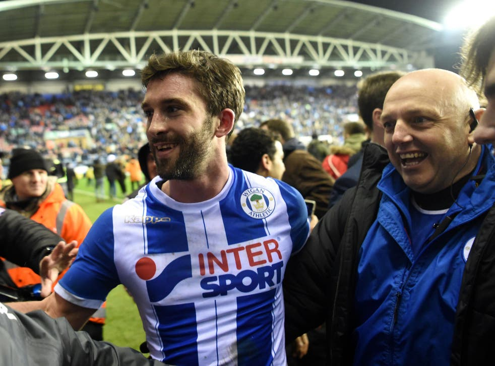 Will Grigg believes Wigan can go far in the FA Cup after beating Manchester City