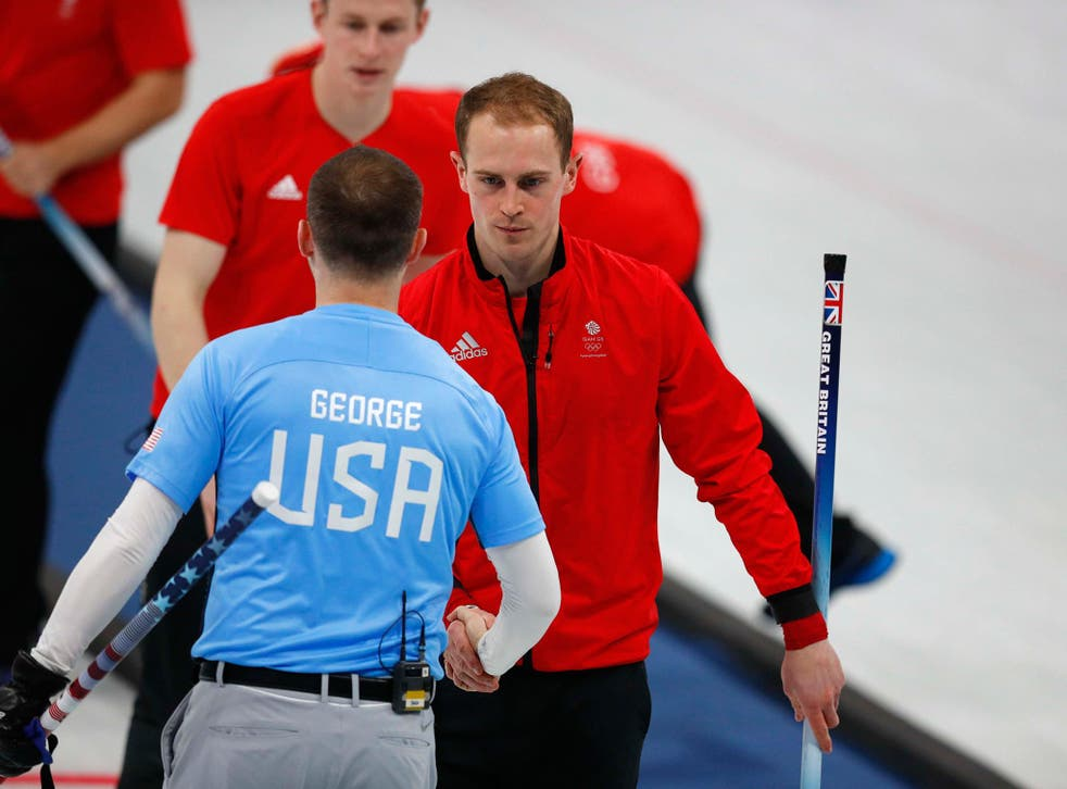 Kyle Smith concedes defeat for his British team to the USA