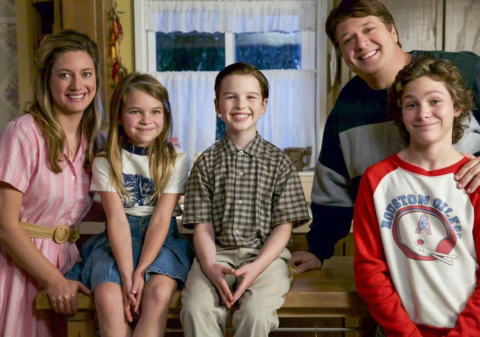 a6fe213cc  Young Sheldon  is an instant success in the US with Zoe Perry as Mary.