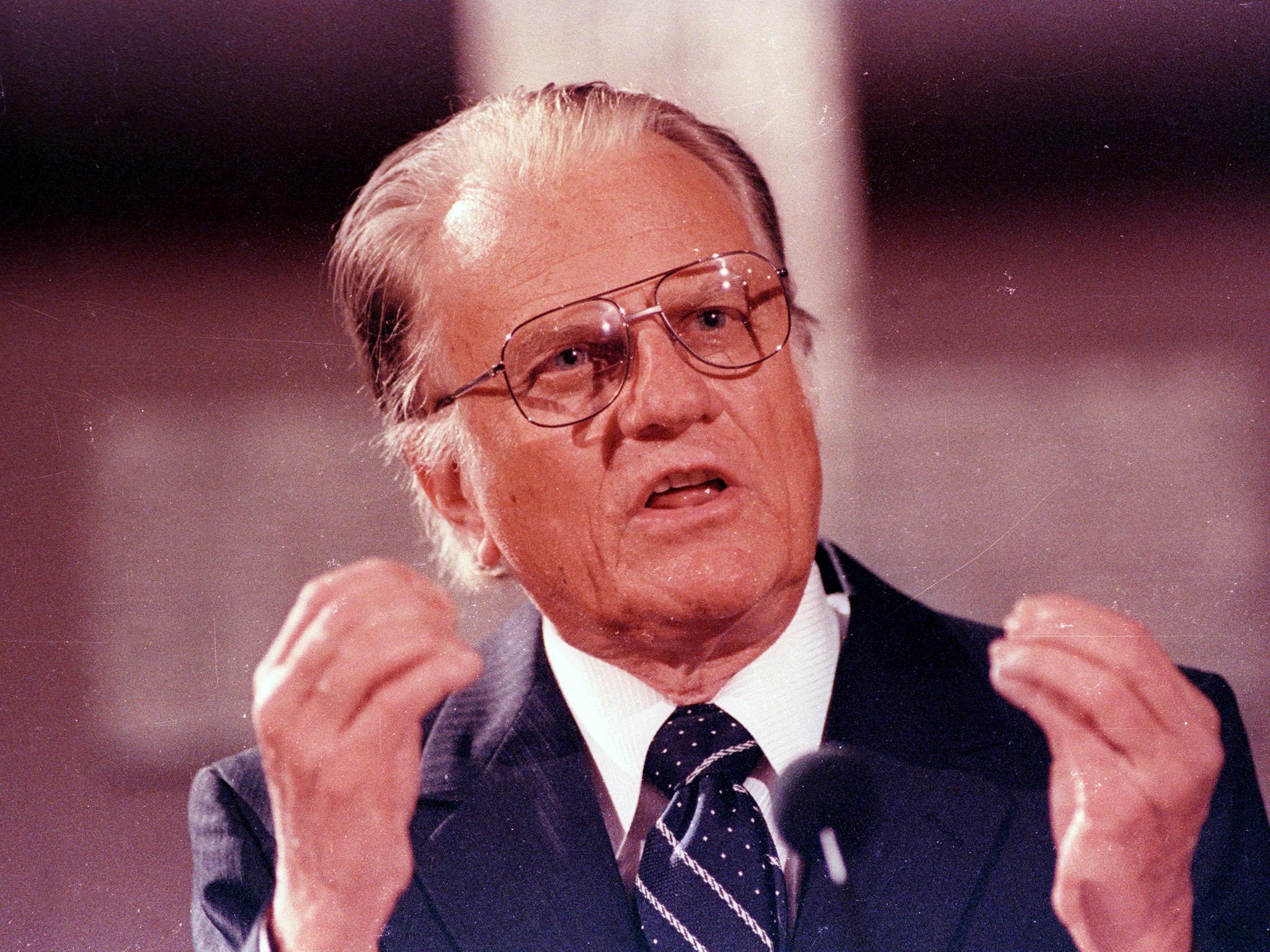 Billy Graham: American evangelist preacher who was a friend to ...