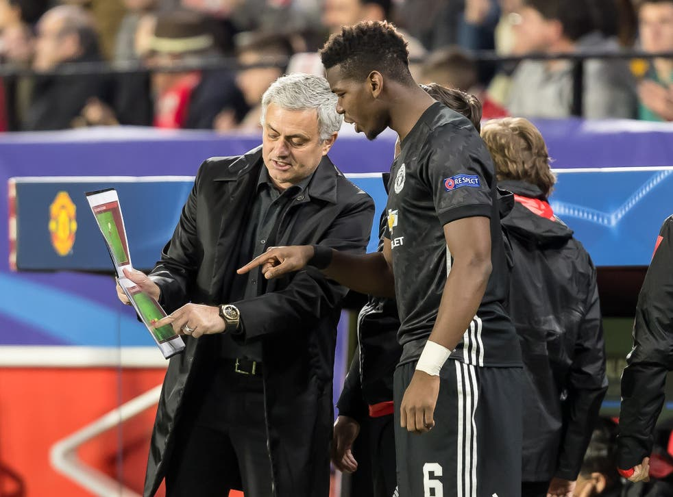 Paul Pogba was eventually brought on in the first-half