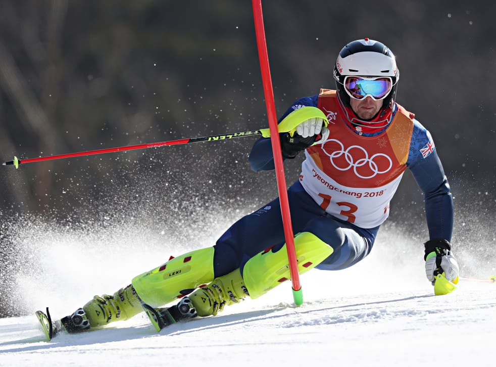 Dave Ryding finished ninth to secure Britain's first top-10 alpine skiing result since 1988