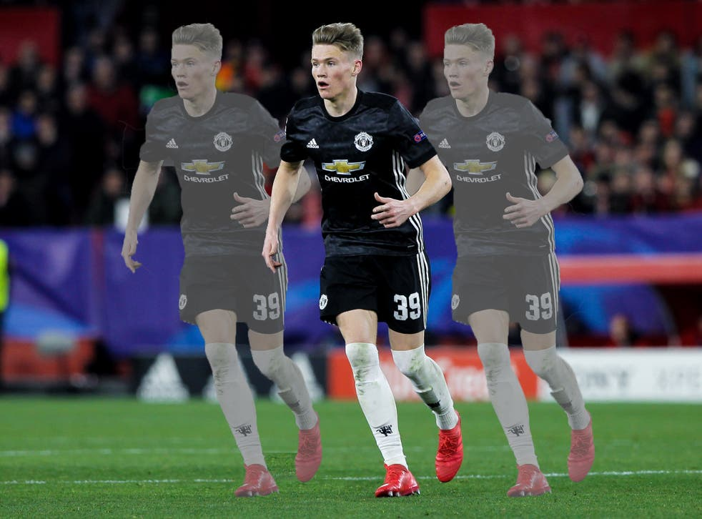 Scott McTominay was one of Manchester United's star performance, albeit in a limited role