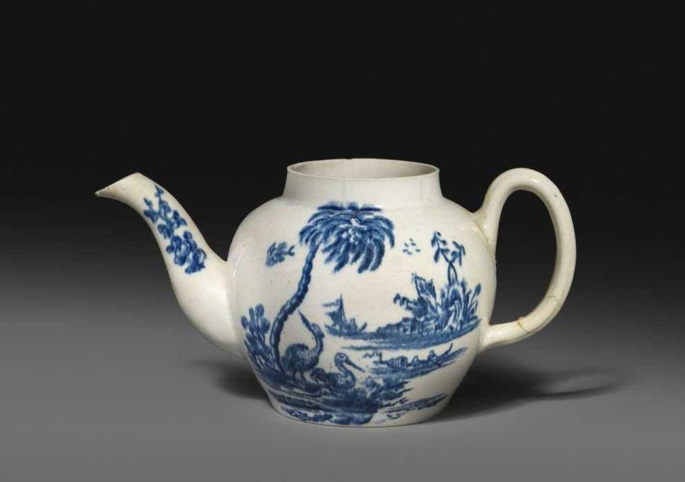 The collector bought the teapot at an auction in 2016