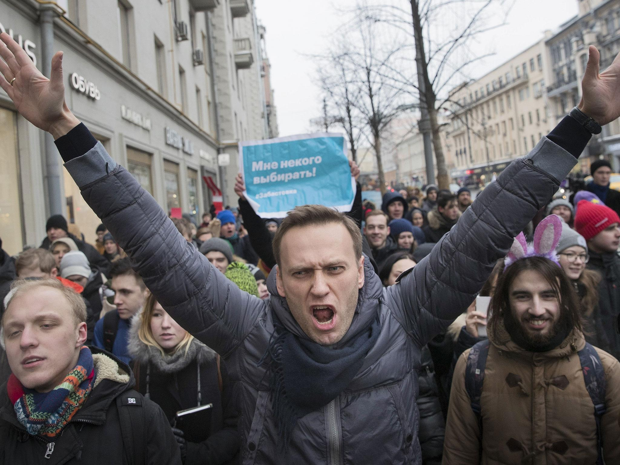 Alexei Navalny latest: Russian opposition leader arrested ...