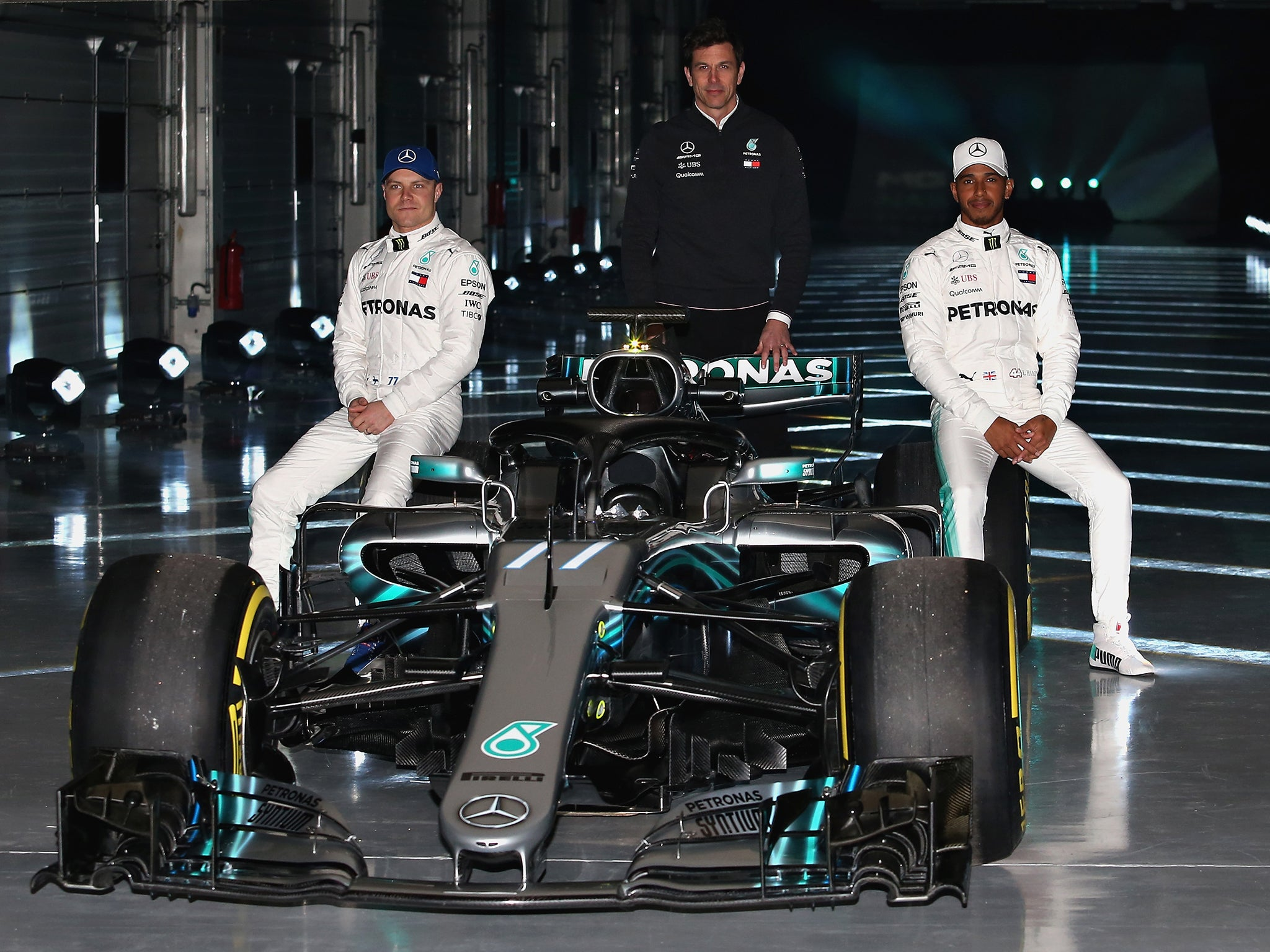 ff2b527ae7d8f Lewis Hamilton ready to sign F1 s most lucrative deal in history as Mercedes  and Ferrari unveil new Halo designs