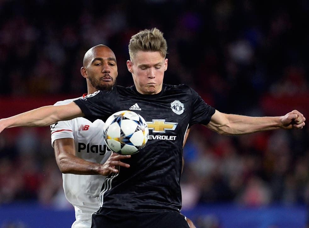 Scott McTominay is keen to play on European football's biggest stage again