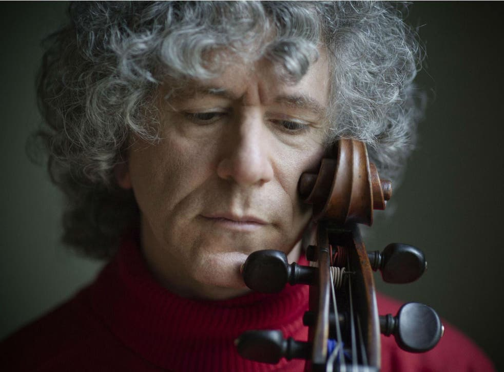 The cellist Steven Isserlis who performed with pianist Alexander Melnikov at Wigmore Hall