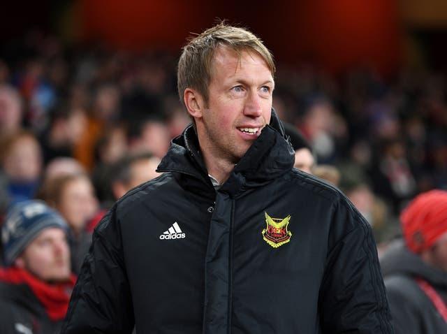 Graham Potter has built his reputation working in Swedish football