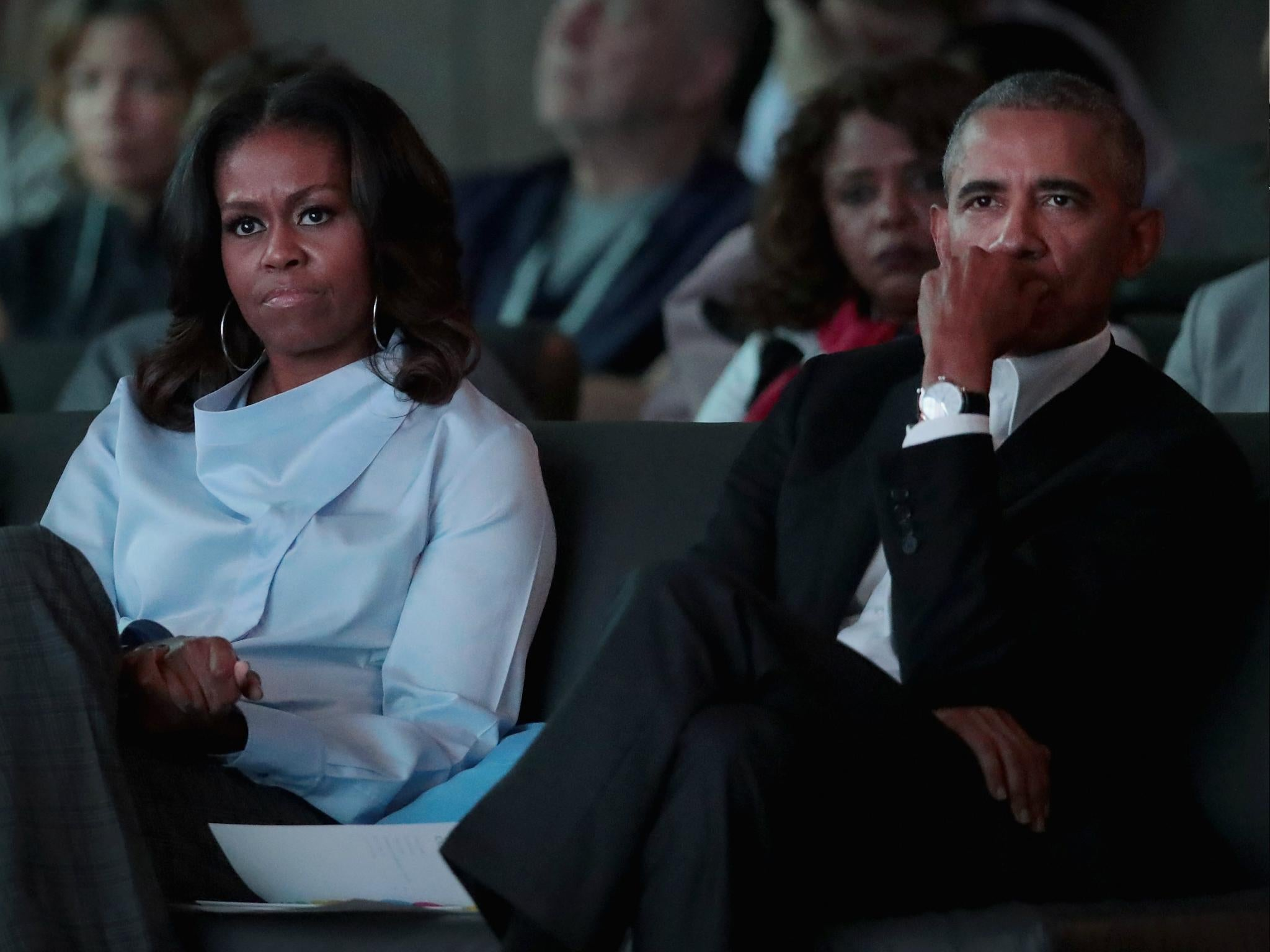 Barack and Michelle Obama have a message for the students fighting for tougher gun controls