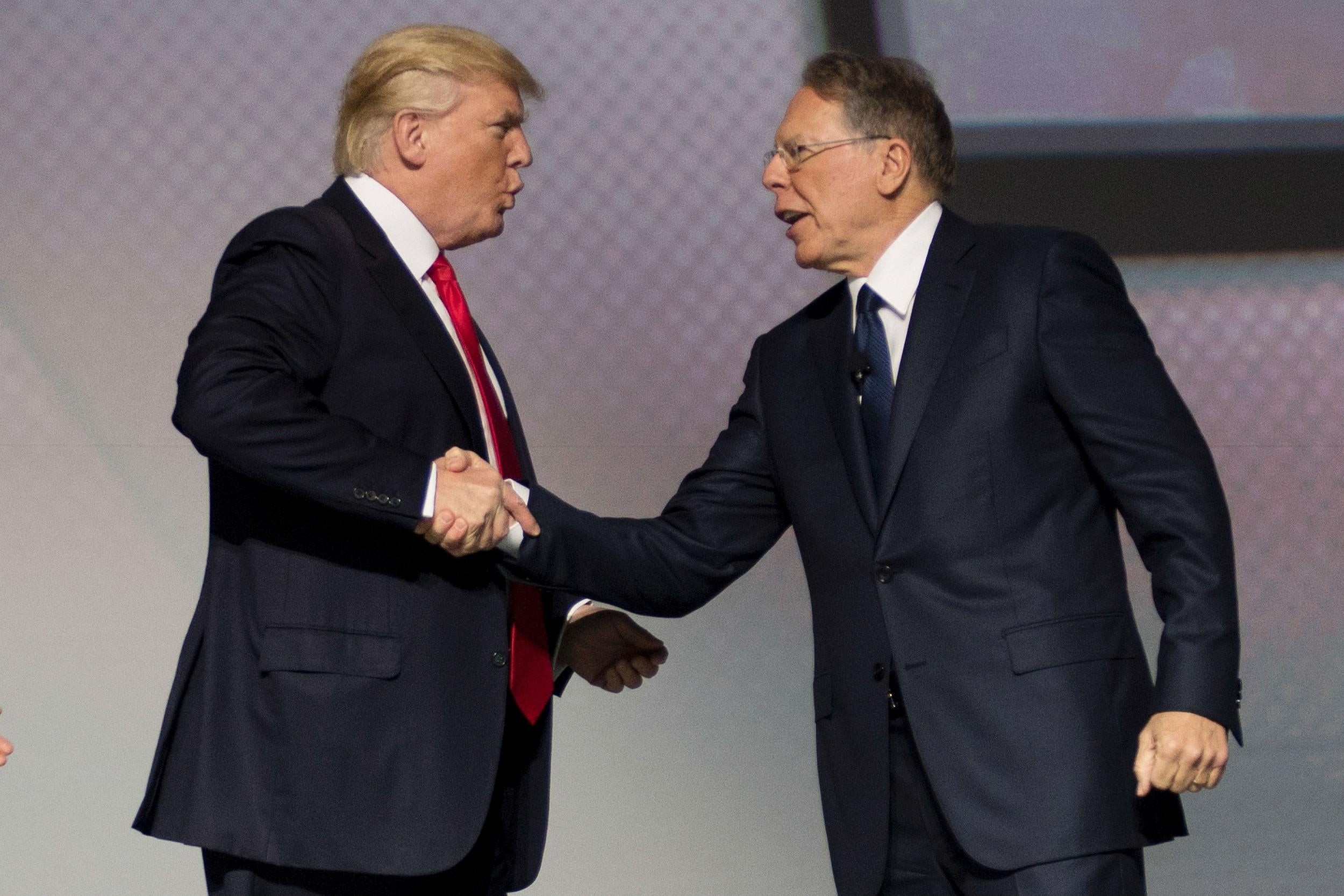 FBI 'investigating if Russian money went to NRA's campaign to help elect Donald Trump''