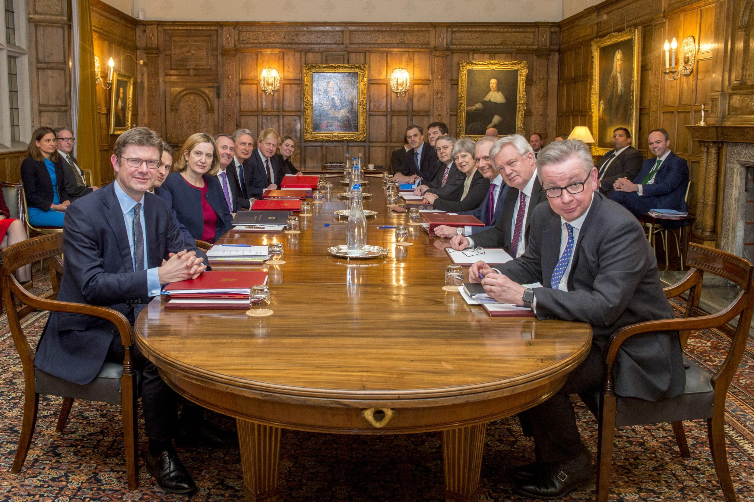 Theresa May S War Cabinet Was More Reminiscent Of A