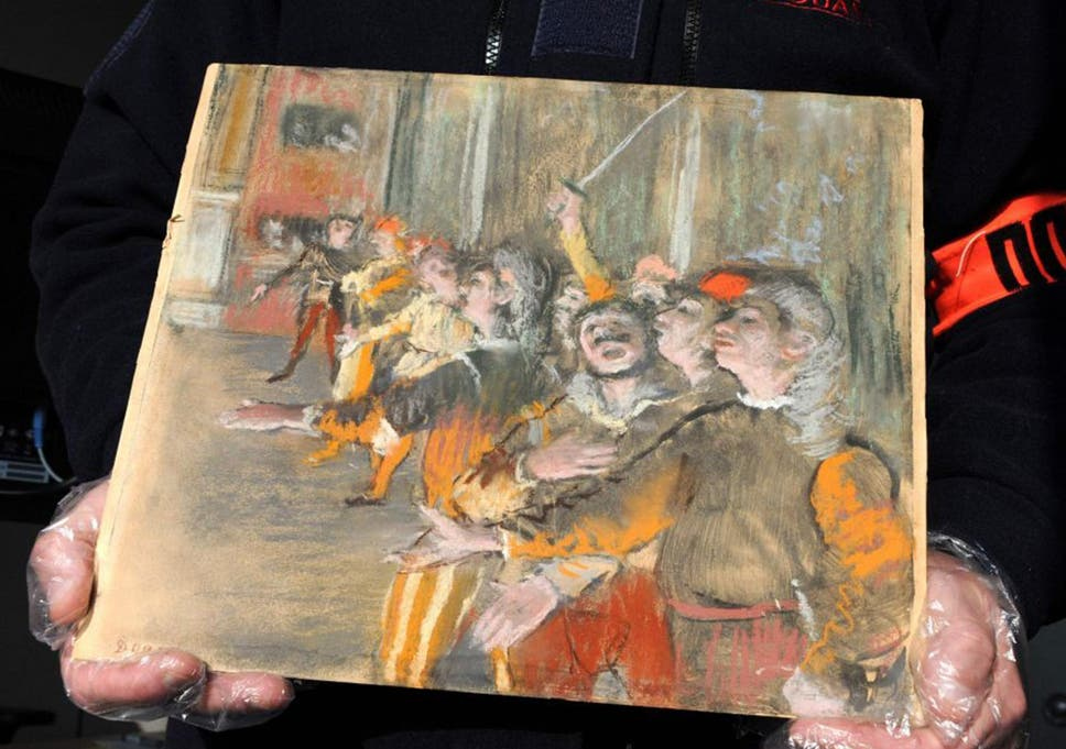 Stolen Edgar Degas Painting Worth 700 000 Found On A Bus The