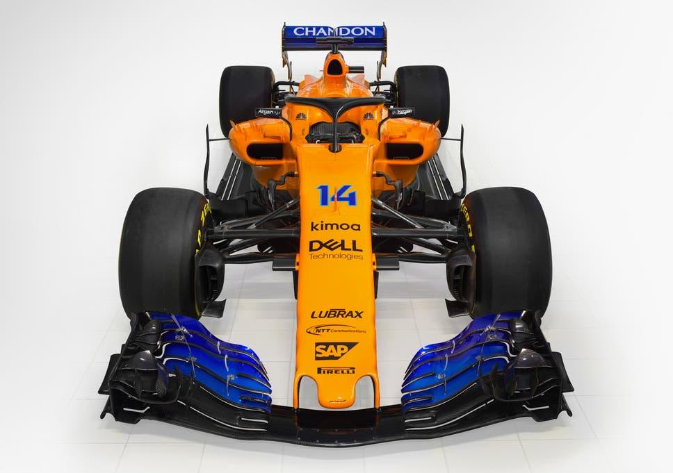mclaren reveal their new renault-powered f1 car as fernando alonso