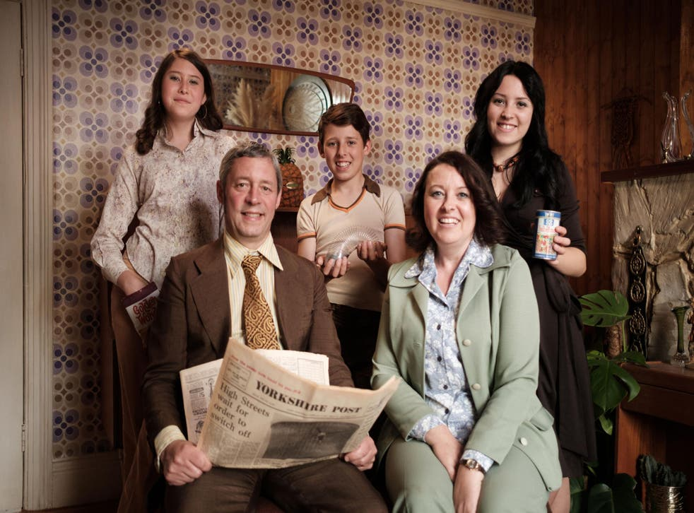 The time-travelling Ellis family of Bradford arrive in the decade that taste forgot – the 1970s