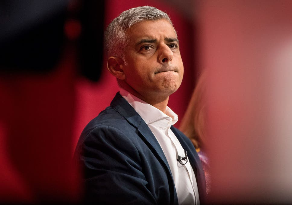 The comments were aimed at the London mayor, Sadiq Khan