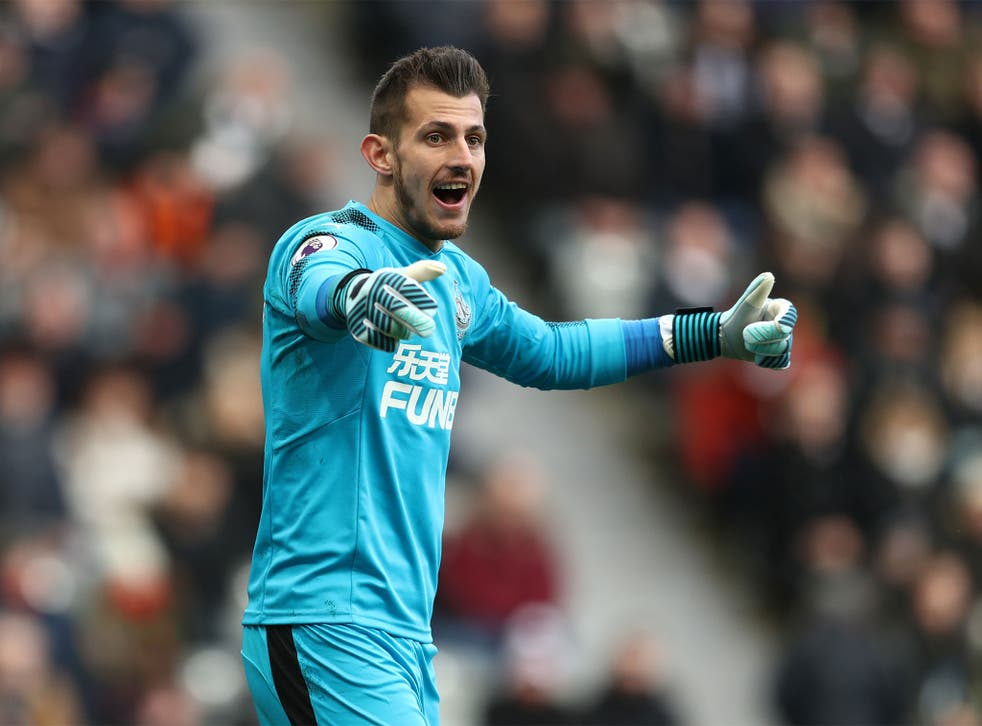 Martin Dubravka was an unlikely star against Man United