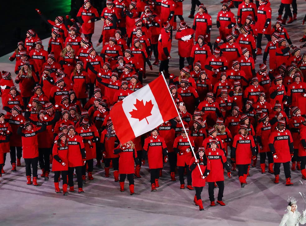 The athlete has not been named by Team Canada but police descriptions have revealed his identity