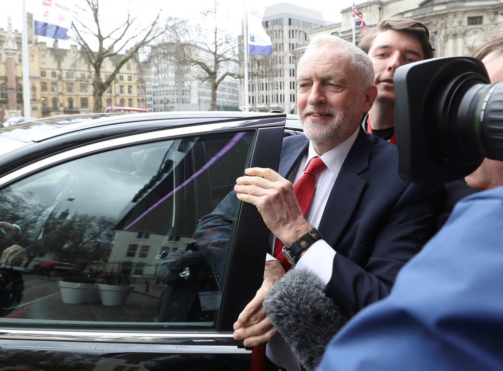 Jeremy Corbyn is increasingly assured in his handling of the media